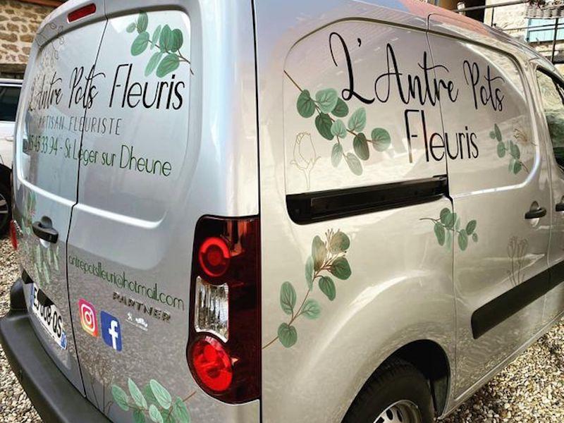 Car covering pour l'Antre Pots Fleuris